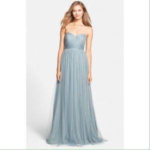 Jenny Yoo Annabelle Dress in Mayan Blue Size 2